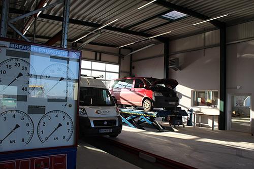 Auto Reparatur in der Werkstatt